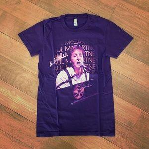 NWOT American Apparel Paul McCartney Shirt